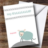 Funny Sheep Sorry Customised Card