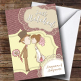 Couple Love Wedding Day Customised Card