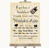 Cream Roses Wedpics App Photos Customised Wedding Sign