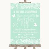 Green Burlap & Lace Wedpics App Photos Customised Wedding Sign