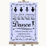 Lilac Toiletries Comfort Basket Customised Wedding Sign