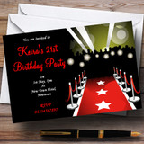 VIP Red Carpet Customised Party Invitations