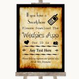 Western Wedpics App Photos Customised Wedding Sign