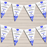 Hearts Party Decoration Sapphire 45th Wedding Anniversary Bunting Party Banner