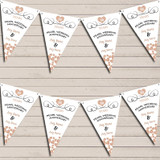 Hearts Party Decoration Pearl 30th Wedding Anniversary Bunting Party Banner
