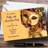 Mardi Gras Customised Party Invitations