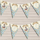 Shabby Chic Floral Vintage Baby Boy Baby Shower Bunting