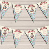 Shabby Chic Floral Vintage Baby Girl Baby Shower Bunting
