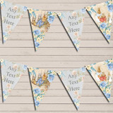 Shabby Chic Vintage Peter Rabbit Baby Shower Bunting