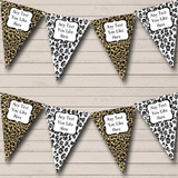 Leopard Print Funky Birthday Party Bunting
