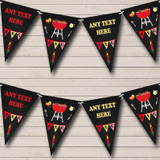 BBQ Grill Cookout Birthday Party Bunting