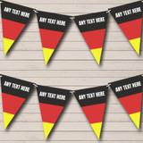 German Flag Germany Birthday Party Bunting