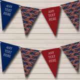 USA American Flag 4th July Vintage Birthday Party Bunting