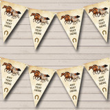 Vintage Horses Birthday Party Bunting