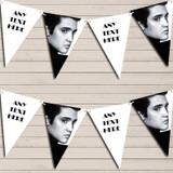 Elvis Presley Black & White Birthday Bunting Garland Party Banner