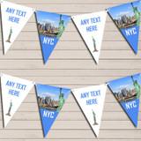NYC New York City Birthday Bunting Garland Party Banner