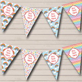Rainbow Bright Colours Carnival Fete Street Party Bunting