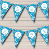 Blue Camouflage Carnival Fete Street Party Bunting