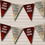 American Flag Vintage Eagle Carnival, Fete & Street Party Bunting