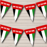 Arab Emirates Flag Carnival, Fete & Street Party Bunting