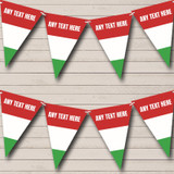 Hungarian Flag Hungary Carnival, Fete & Street Party Bunting
