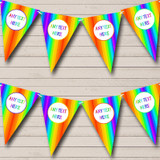 Rainbow Stripes Bright Carnival, Fete & Street Party Bunting