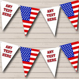 Stars Stripes American Flag Carnival, Fete & Street Party Bunting