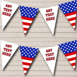 Stars Stripes American Flag USA Carnival, Fete Street Party Bunting