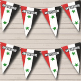 Syrian Flag Syria Carnival, Fete & Street Party Bunting