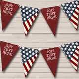 USA American Flag Stars Stripes 4th July Carnival, Fete Bunting