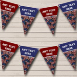 Vintage USA American Flag 4th July Carnival, Fete Bunting