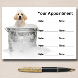 Dog Grooming Groomer Personalised Appointment Cards