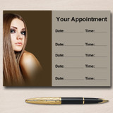 Hair And Beauty Salon Hairdresser Personalised Appointment Cards