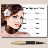Hair Beauty Spa Or Nail Salon Personalised Appointment Cards