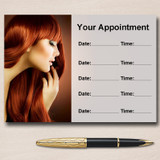 Hair Hairdressing Salon Mobile Stylist Personalised Appointment Cards