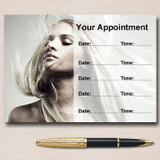 Hair Mobile Hairdresser Salon Personalised Appointment Cards