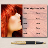 Hair Salon Hairdresser Personalised Appointment Cards