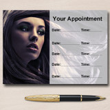Hair Salon Mobile Hairdresser Personalised Appointment Cards
