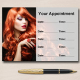 Hairdresser Hair Or Nail Salon Personalised Appointment Cards