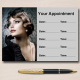 Hairdresser Treatment Salon Hair Personalised Appointment Cards
