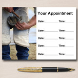 Horse Farrier Blacksmith Personalised Appointment Cards