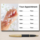 Manicure Pedicure Nail Salon Beauty Personalised Appointment Cards