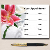 Massage Treatment Spa Beauty Salon Personalised Appointment Cards