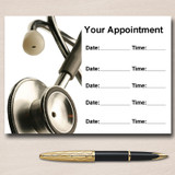 Medical Doctor Nurse Surgery Personalised Appointment Cards
