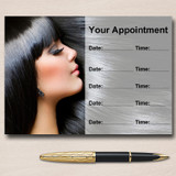 Mobile Hairdresser Hair Salon Beauty Personalised Appointment Cards