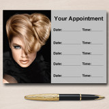 Mobile Hairdresser Hair Salon Personalised Appointment Cards