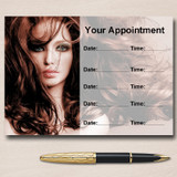 Mobile Hairdresser Or Hair Salon Personalised Appointment Cards