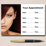 Mobile Hairdresser Salon Hair Nails Beauty Personalised Appointment Cards