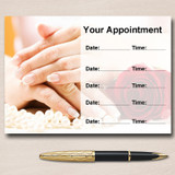 Nail Beauty Salon Hair Personalised Appointment Cards