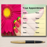 Nail Manicure Pedicure Beauty Salon Personalised Appointment Cards
